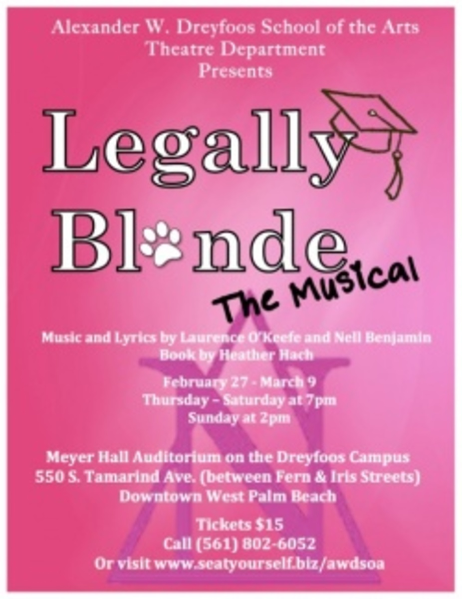 Legally Blonde: Opening Night