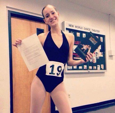 Alumna dances her way to Juilliard