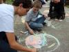 Sidewalk Chalk: Freshmen