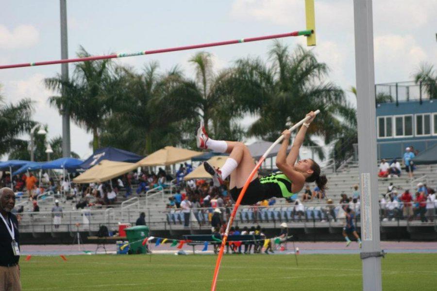 Jenna Meyers-Sinnet Hurdles and Vaults Into the Junior Olympics