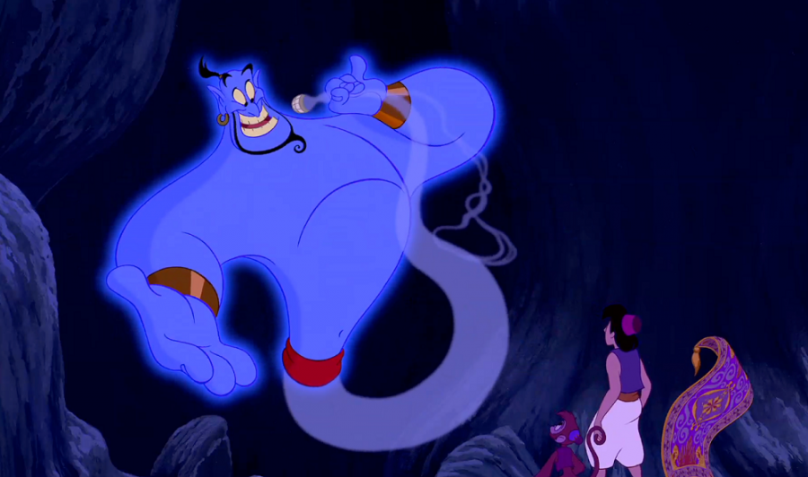 Williams was the voice of the iconic Genie from the Disney classic