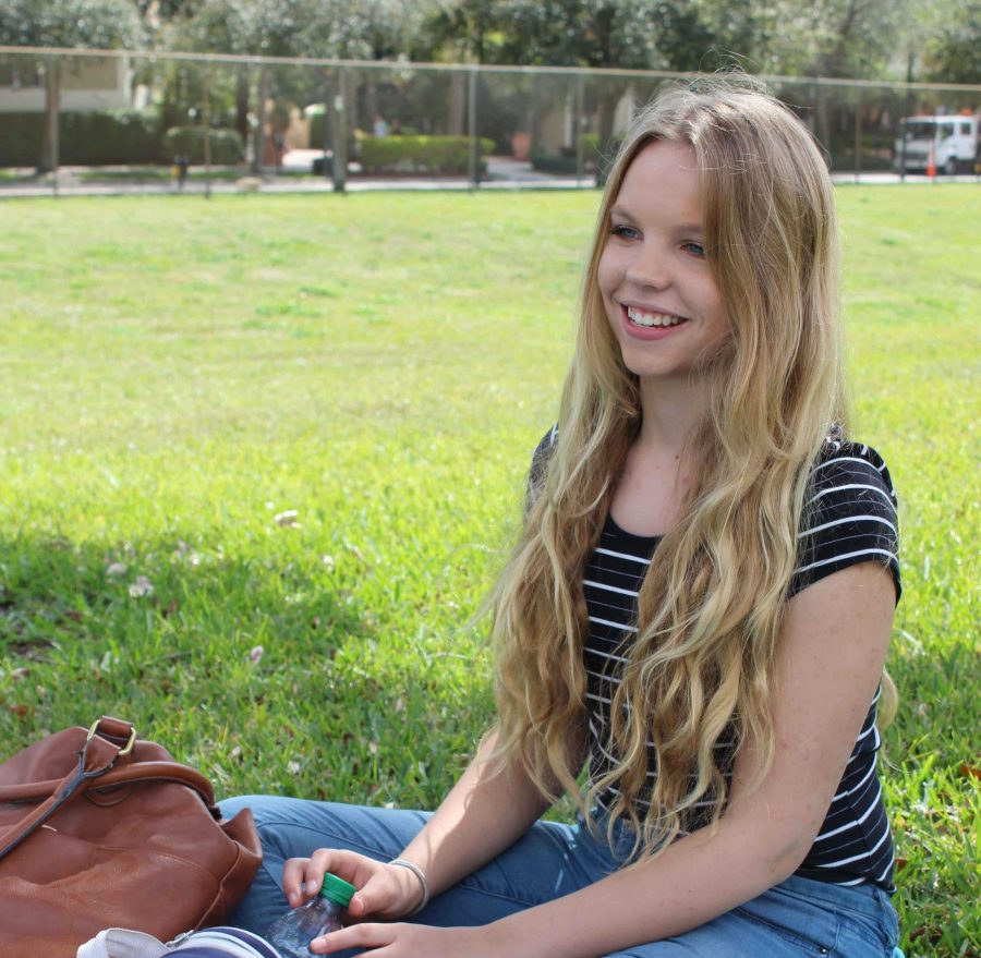 """""""Journalism is giving people information on topics so they can formulate their own opinions on [world issues]. It enlightens people on the different events, opinions and issues occurring across the globe,"""" Piano sophomore Sophia Oaks said."""