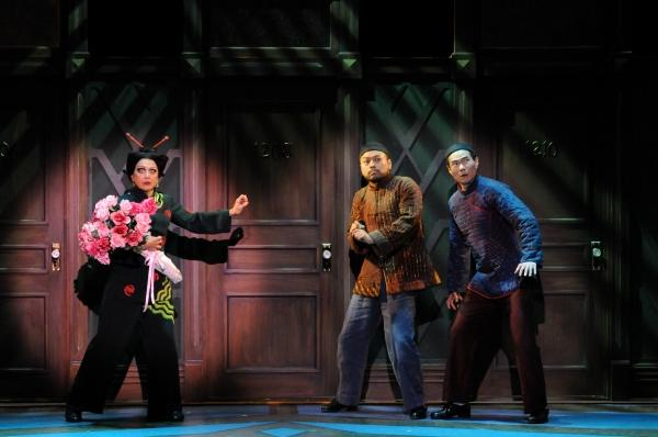Mrs. Meers and her two henchmen, Ching Ho and Bun Foo, as they appeared in a 2013 production of
