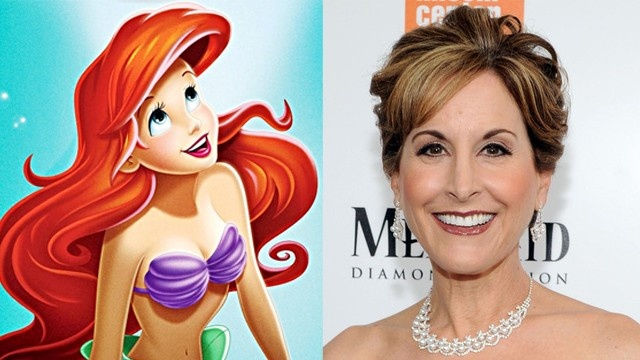 Jodi Benson (right) voiced the iconic Disney character Ariel in