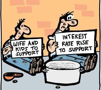 Are the government's interest rates in your interest?
