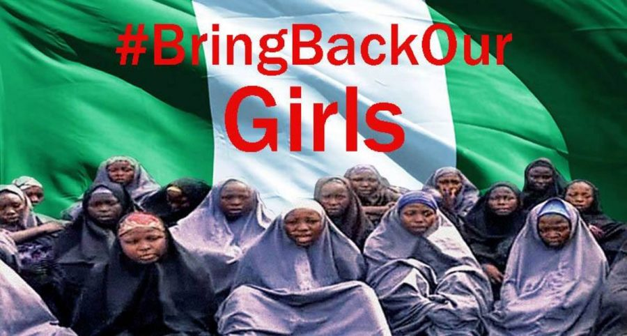 The kidnapping of the Chibok school girls sparked an international outcry with the twitter hashtag: #Bringbackourgirls.