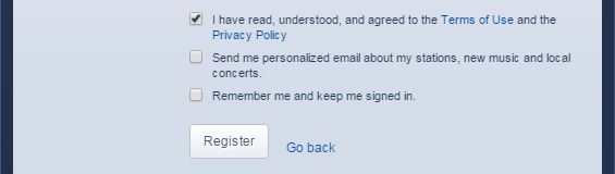 Why its important to understand terms of service agreements the muse screenshot of pandora radios platinumwayz