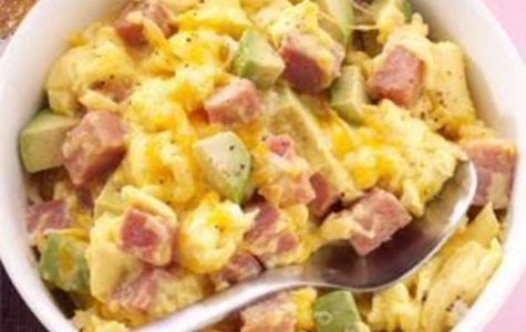 "The ""Right Choice"" Meal: Scrambled Avocado Eggs"