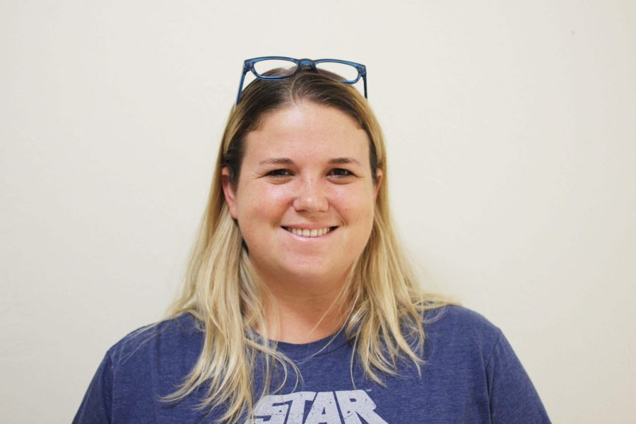 Communications teacher Christine Tieche is once again back teaching film and TV production courses.