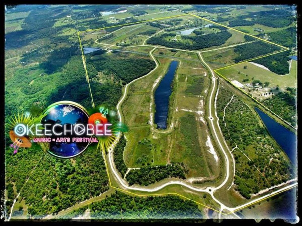 The 850-acre property where the festival will take place features grasslands, lakes, and tropical woodlands.