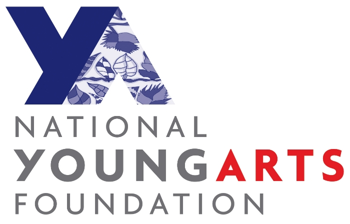 The logo for YoungArts, a performing arts contest where students who advance are eligible to receive large scholarships.