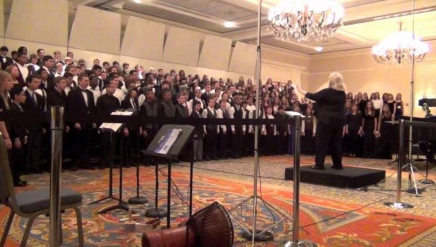 """Many choirs attend All-State in Tampa from Jan. 14 to Jan. 17. """"Not only is it a place where you can make new friends and learn new music for college auditions, it's also a great reason to miss a few days of school,"""" vocal junior Kyle Watson said. """"Okay, maybe not the latter."""""""