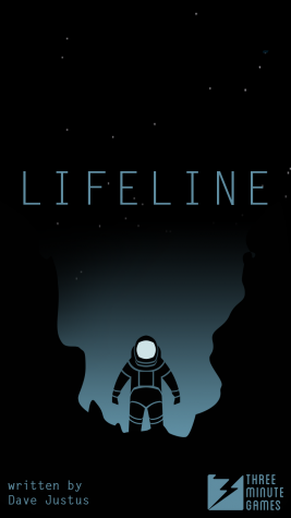 """""""Lifeline"""" is an  immersive short story app in which users help a stranded astronaut."""
