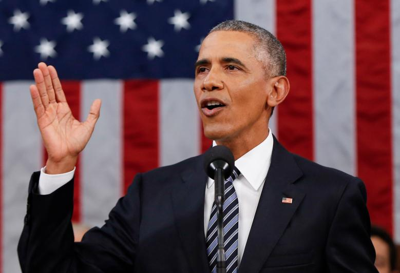 President Barack Obama speaks to the American people on Jan. 12 in his eighth and final State of the Union Address. In the address Obama frames his vision for his legacy as the nation's first African-American president.