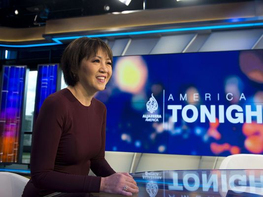 Joie Chen is the anchor of Al Jazeera and host of