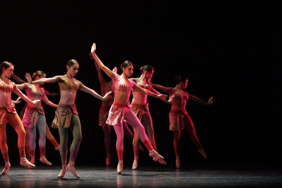 During the annual Spring Dance Concert, which took place from April 8-10 in Meyer Hall, dancers from all grade levels came together to perform dances such as excerpts from Swan Lake; The List, a tribute to the Holocaust; and Last Dance, in honor of David Bowie and Freddie Mercury.