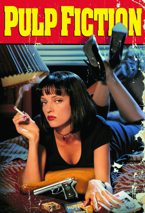 An+official+poster+for+%22Pulp+Fiction%2C%22+which+was+released+in+theaters+on+Oct.+14%2C+1994.+