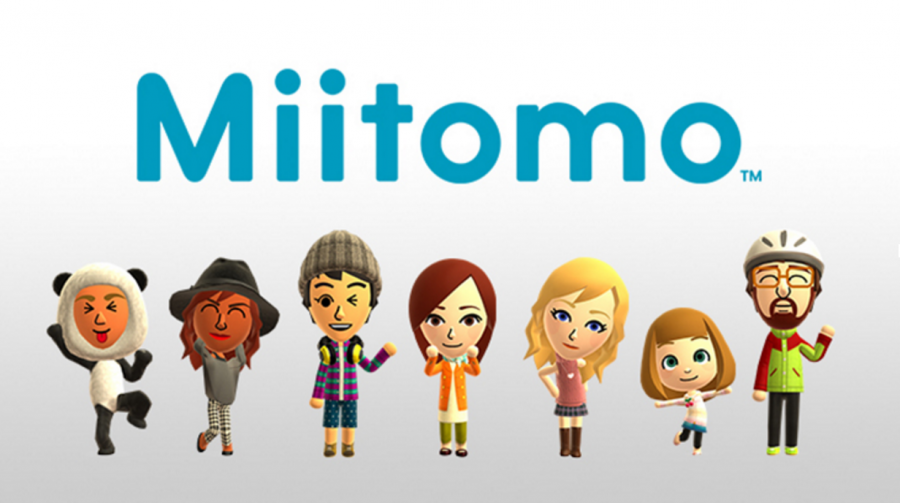 """Official art by Nintendo for its latest project """"Miitomo,"""" a new social media networking app available for iPhone and Android."""