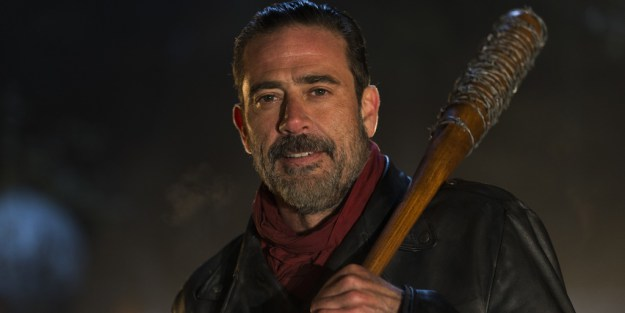 Fans were left wondering who Negan bashed with his bat in the final moments of the season six finale.