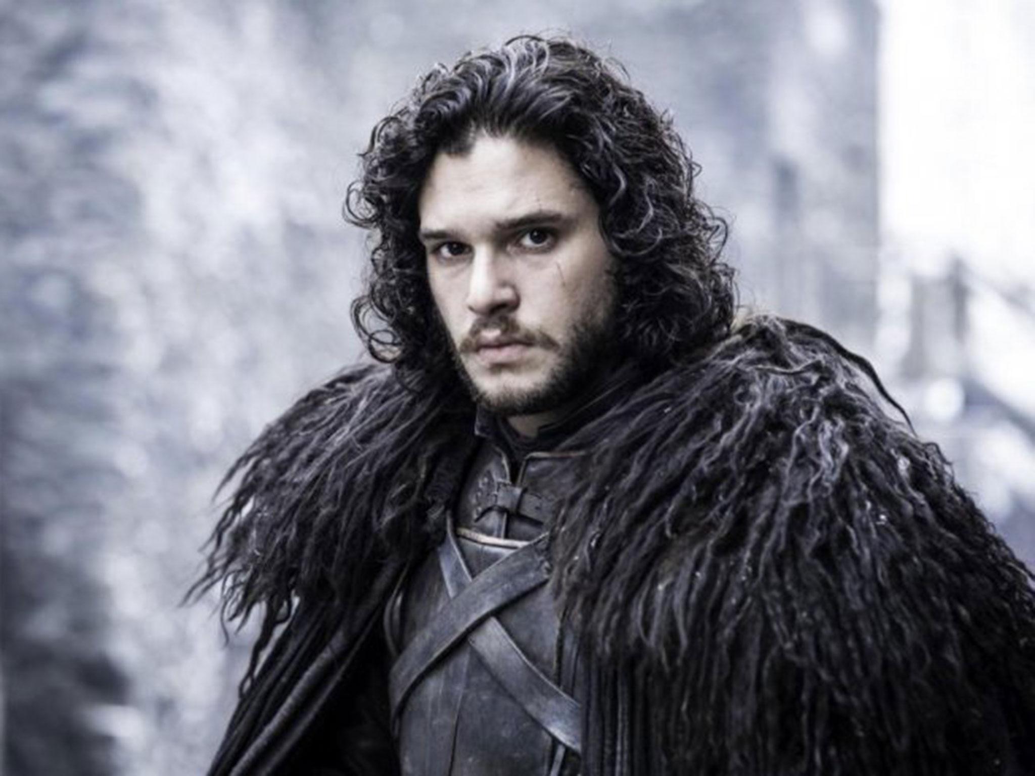 "Kit Harington as Jon Snow in season 5 of ""Game of Thrones."""