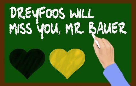 Saying Goodbye to Mr. Bauer