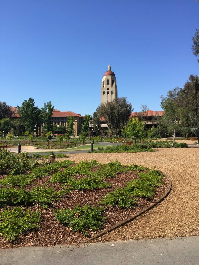 The Hoover Tower at Stanford University. Stanford is the location where NBTB 2016 was held.