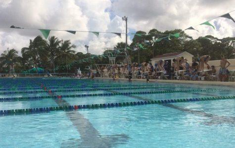 First Swim Meet Results