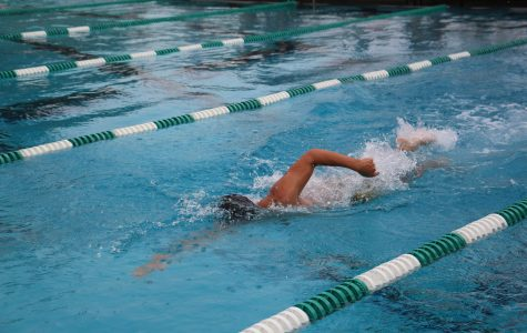 Dreyfoos swim team blows opponents out of the water