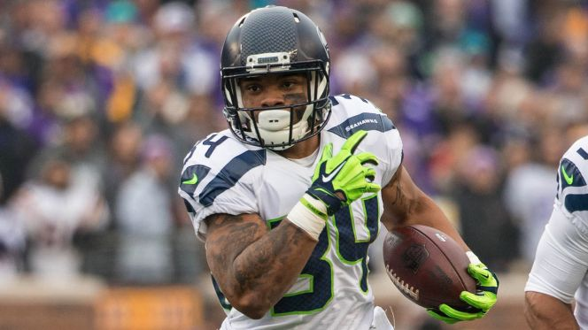 Seattle Seahawks running back Thomas Rawls rushed for more than 100 yards in four of his first six starts before a broken ankle ended his season last year at Baltimore.