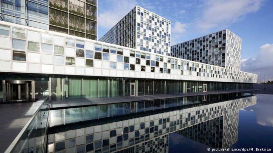 The International Criminal Court in Hague, Netherlands.