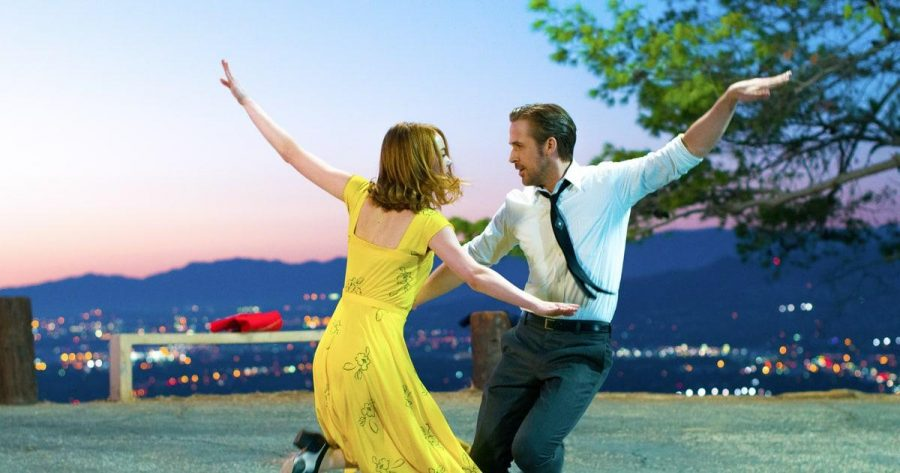 Ryan Gosling and Emma Stone co-star in the hit musical La La Land, about a struggling pianist and actor in Los Angeles.