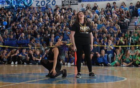 Students Showcase Spirit at Pep Rally
