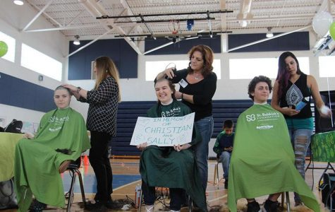 Students Brave the Shave for St. Baldrick's