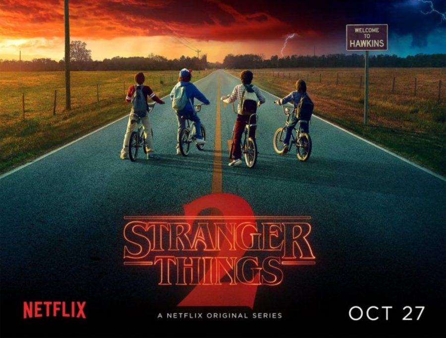 """The original season of the Netflix original series """"Stranger Things""""  debuted on July 15,2016. The series featured a supernatural world in which everything is controlled by the beings of the Upside Down. In its return, the show drew a larger audience than before."""