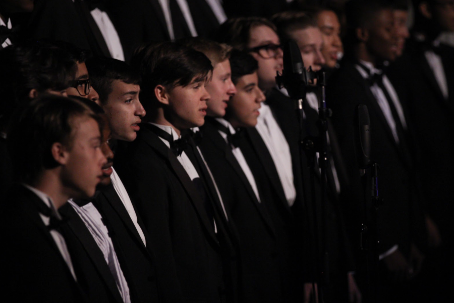 Leading up to the annual Prism concert on Nov. 29, vocal majors memorized their songs and rehearsed for Prism, which featured holiday-themed pieces