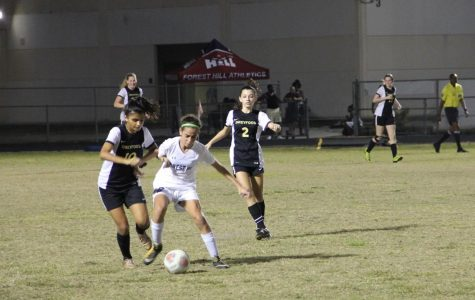 Girls' Soccer Team Defeats Forest Hill, 2-0