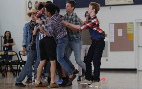 Seniors Dominate Dodgeball on Music Genre Day