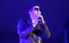 Nick Jonas performs his set during the third day of SunFest.