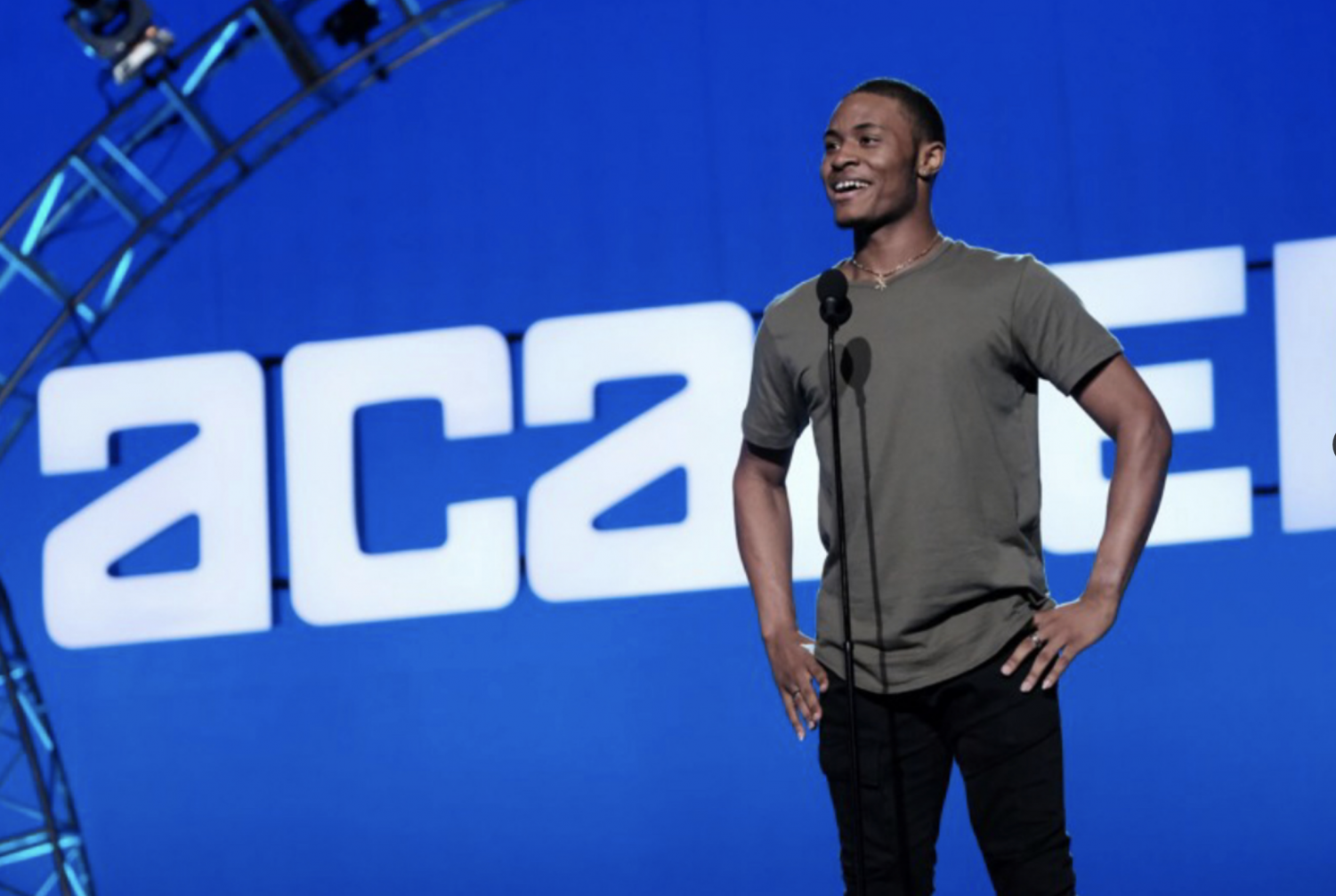 "Hickman spent his time during the early episodes of SYTYCD at the 'Academy'. ""I was always inspired by students and people saying they were inspired by me,"" Hickman said. ""That inspired me to push more, and grow more, and reach more people through my dancing, which is a huge part of why I'm on the show. """