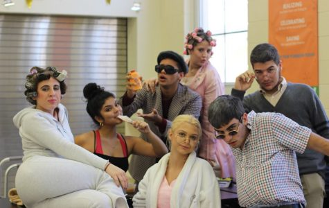 STUDENTS STEP INTO THE FUTURE ON SENIOR CITIZEN DAY