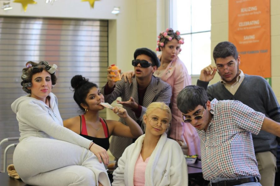"""Although there are seven days left until Spirit Week begins, seniors already came to class in costume on Friday, Jan. 18, for Senior Citizen Day. Wrapped up in bathrobes and accompanied by canes, seniors emulated the styles of their elders to show enthusiasm for the Class of 2019. """"My inspiration for my outfit was taken from my aunts,"""" communications senior Sydney Greenspan said. """"It was an opportunity for me and my boyfriend to dress up for what we hope to look like in the future, or at least on my part."""""""