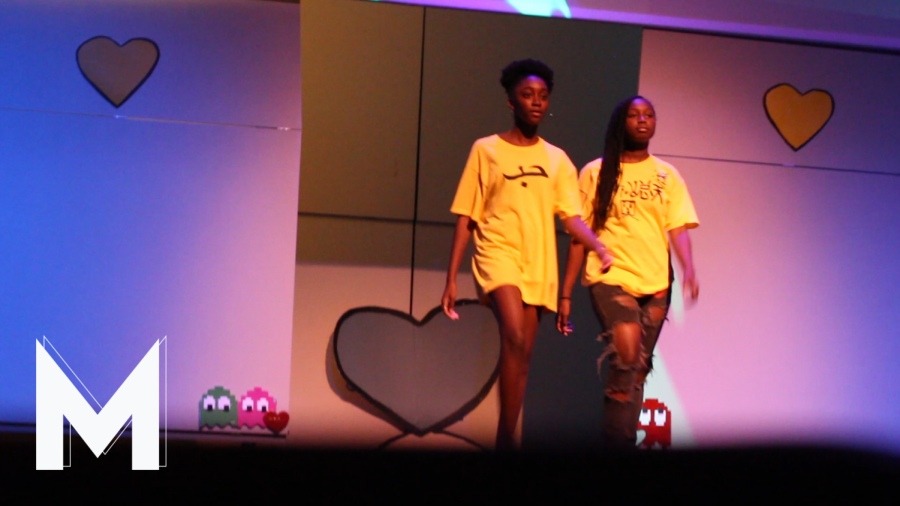 STUDENTS STRUT WITH STYLE IN FASHION SHOW