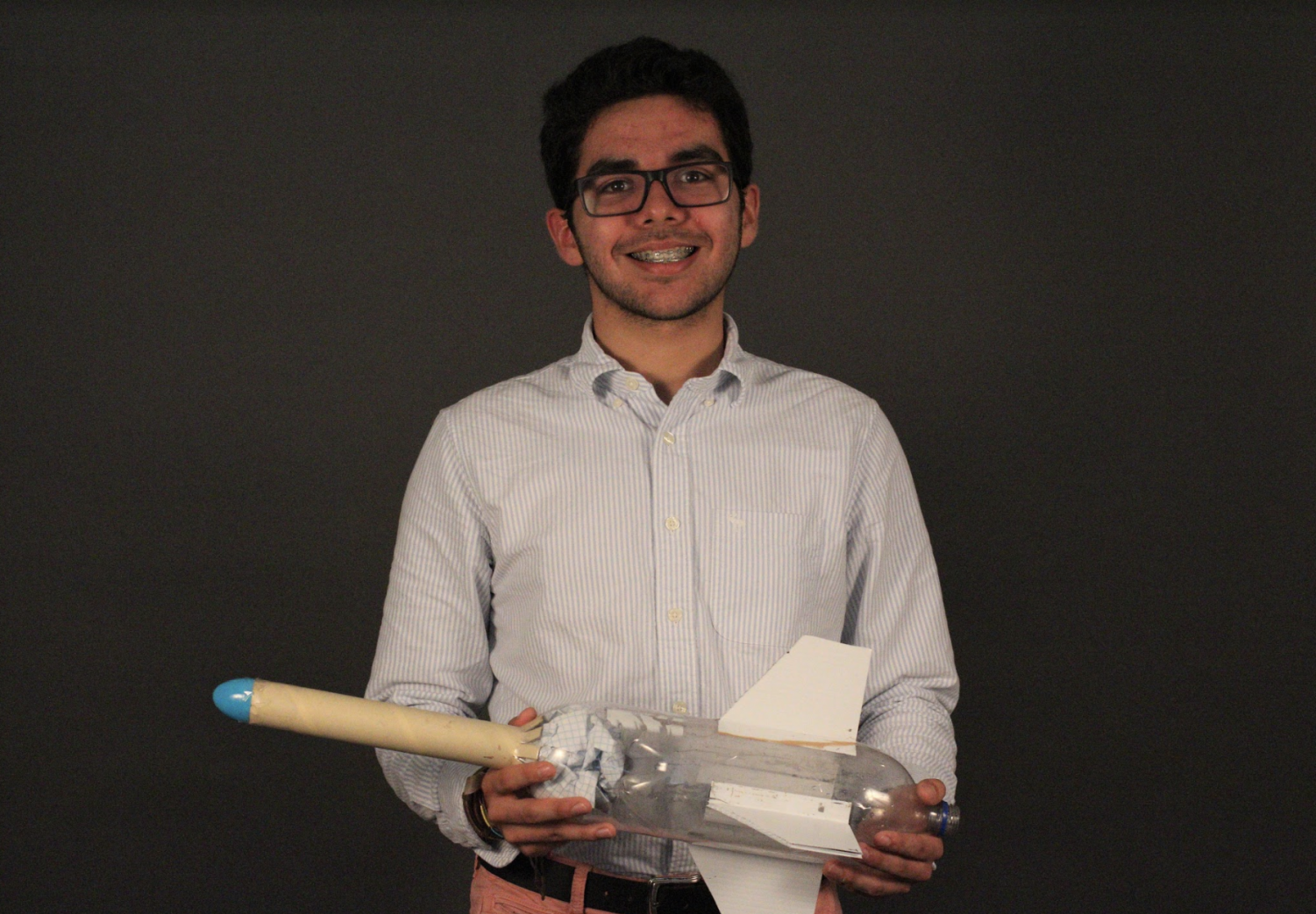 IT IS ROCKET SCIENCE: DEVON DELGADO AND SECME OLYMPIAD