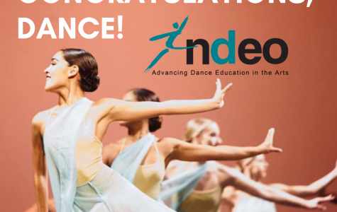 DANCE DEPARTMENT TO PERFORM IN NATIONAL SHOWCASE NEXT FALL