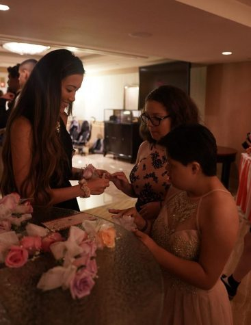 PROM TRANSFORMS BALLROOM INTO AN ENCHANTED FOREST