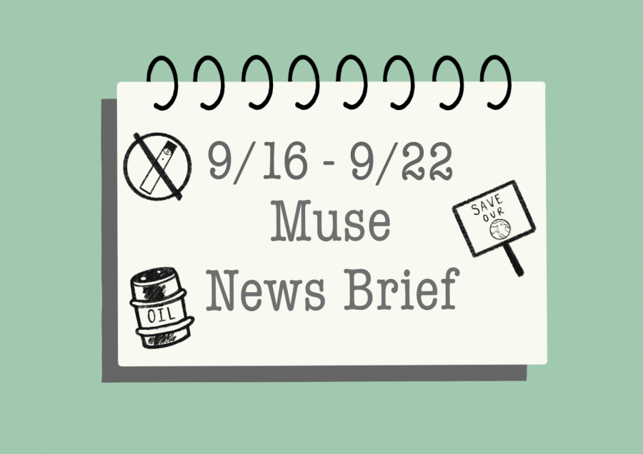 9/16 to 9/22 NEWS BRIEFS