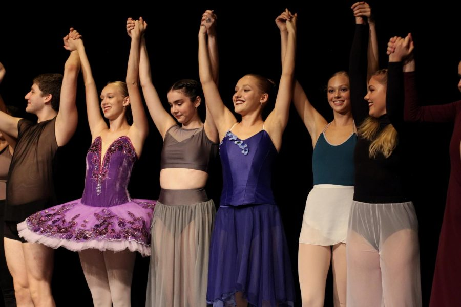 Caption: The Dance Senior Showcase took place on Oct. 11 in the Brandt Black Box Theatre. The seniors' solos were focused on preparing for the future, through YoungArts and college auditions and more. For example, dance senior Jemma Prizzi hopes to dance for a professional cruise line after high school.