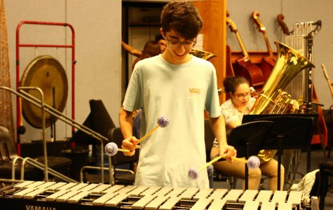 MUSIC STUDENTS PREPARE FOR PRISM