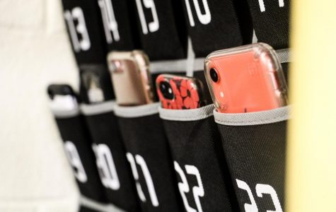 """THE RISE OF """"PHONE JAILS"""" IN CLASSROOMS"""