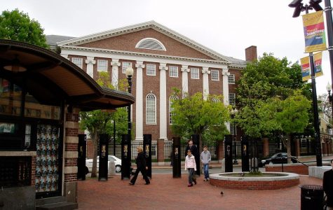 """""""Cambridge Harvard Square"""" by Muns is licensed under CC by 2.0 Generic."""